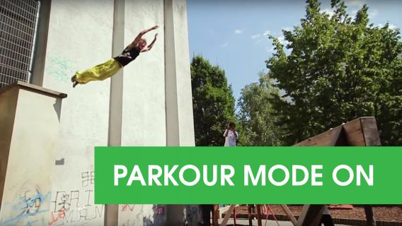 2013: Tomáš SAHIR Taran parkour video